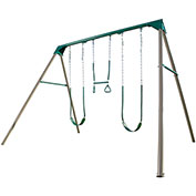 Lifetime® 10-Foot Swing Set, Earthtone