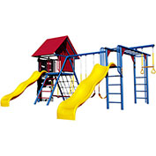 Lifetime® Double Slide Deluxe Playset, Primary