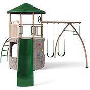 Lifetime® Adventure Tower Playset, Earthtone