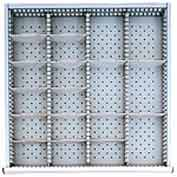 """SC Drawer Layout, 19 Compartments 2"""" H"""