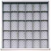"""SC Drawer Layout, 30 Compartments 3"""" H"""