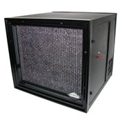 Commercial And Light Industrial Media Air Purifier - 1100 CFM - 230V - Black