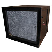Commercial And Light Industrial Media Air Purifier - 1100 CFM - 230V - Wood