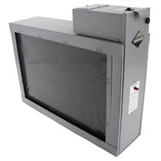 Air Flow Switch w/ Whole System Electronic Air Purifier - 1400 CFM - 120V Silver
