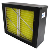 Whole System Media Air Purifier - 2100 CFM - MERV 8 Rated Filter - Black