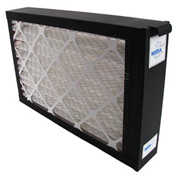 Whole System Media Air Purifier 2100 CFM MERV 7 Rated Filter Black