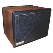 Portable Electronic Air Purifier - 275 CFM - 120V - Wood with Black Trim