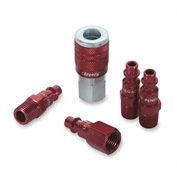 "Legacy™ Colorconnex® Type D Red Coupler & Plug Kit, 1/4"", 5Pc"