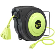 Legacy Zillareel™ 50' 14-3 AWG Electrical Cord Reel Retractable Spring Driven