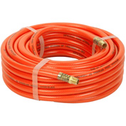 "Legacy™ Air Hose, Orange PVC, 3/8"" X 50', 1/4"" Ends"