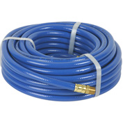 "Legacy™ Workforce® Blue PVC Air Hose, 3/8"" X 50', 1/4"" MNPT Ends"