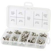 Legacy™ Standard Grease Fitting Assortment, Metric, 96 Pc