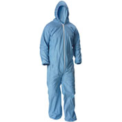 Lakeland 07428 Pyrolon® Plus 2 Disposable FR Coverall XL, Hood, Elastic Wrists/Ankles, 25/Case