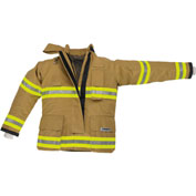 "Lakeland BP2205G OSX B2™ Battalion Fire Protective Pleated Turnout Gear Coat 46"", Gold"