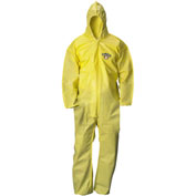 ChemMax1 Coverall, Attached Hood, Elastic Wrists & Ankles, 3XL, 25/Case, Lakeland, C5428-3X