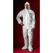 Lakeland C72150 ChemMax® 2 Protective Garment, LG, Hood, Elastic Face/Wrists/Boots, 6/Case