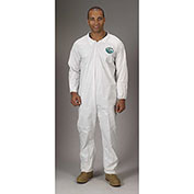 Lakeland CTL417 Micromax® NS Disposable Coverall MD, White, Elastic Wrists/Ankles, 25/Case