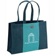 KT0702 - Personalized Natural Jute Tote