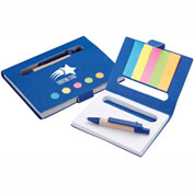 VS1317 - Personalized Mini Notebook with Pen & Flags
