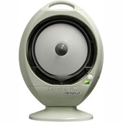 EcoJet by Joape LVP-010302 Angra Tabletop Misting Fan, White, Cools Up to 200 Sq. Ft.