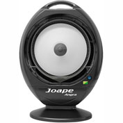 EcoJet by Joape LVP-010303 Angra Tabletop Misting Fan, Black, Cools Up to 200 Sq. Ft
