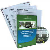 Spill Prevention, Control, and Countermeasures Training DVD, C-409