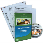 Convergence Training First Aid Initial Steps, C-880, English, DVD