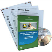Convergence Training First Aid Automated External Defibrillator (AED), C-881, English, DVD