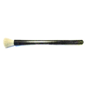 "LPD Trade ESD 1/4"" Round Soft Brush Conductive Bristles, Black - 601"