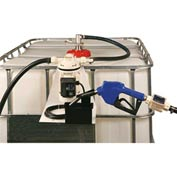 Liquidynamics 970027-06A Closed IBC Transfer System 8 GPM Pump W/12' Hose, Automatic Nozzle