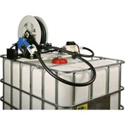 Liquidynamics 970027D-02A Closed IBC Transfer System 10 GPM Pump W/25' Hose, Automatic Nozzle