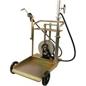Mobile Drum Cart System W/Desiccant Breather & Filter - 75 Gallon