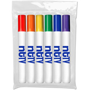 Custom Washable Markers - Six Pack