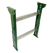 "H-Stand Support 4BH30M31B13 for Ashland 13"" BF Roller Conveyors - Adj. 25-1/4"" to 37-1/4""H"