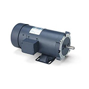 Leeson Motors DC Motor-1/2HP, 180V, 2500RPM, TEFC, Rigid C