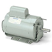 Leeson Motors - 1/4HP, 115/230V, 1075RPM, TENV, Resilient Base Mount, 1.0 S.F.