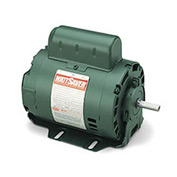 Leeson Motors-1/2HP, 115V, 1725RPM, DP, Resilient Base Mount, 1.35 SF, 76 Eff.