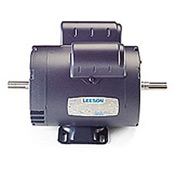 Leeson Motors - 1/2HP, 115/208-230V, 1725RPM, DP, Rigid Mount, 1.25 S.F.
