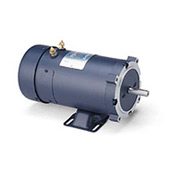Leeson Motors DC Motor-1.0HP, 24V, 1800RPM, TEFC, Rigid C