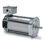Leeson Motors Washdown DC Motor-0.55KW, 180V, 1750RPM, IP55, Metric