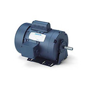 Leeson Motors-3/4HP, 115/208-230V, 1725RPM, TEFC, Resilient Mount, 1.15 SF, 70 Eff.