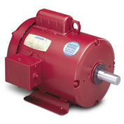 Leeson Motors - 1HP, 115/208-230V, 1725RPM, TEFC, Rigid Mount