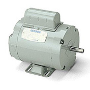 Leeson Motors - 3/4HP, 115/208-230V, 3450RPM, TENV, Rigid Mount, 1.0 S.F.