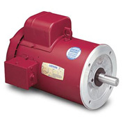 Leeson Motors - 1/3HP, 115/208-230V, 1725RPM, TEFC, C Face Mount, 1.15 S.F.
