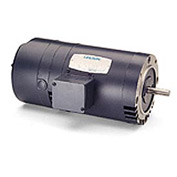 Leeson Motors - 1/2HP, 208-230/460V, 1725RPM, DP, C Face Mount, 1.25 S.F.