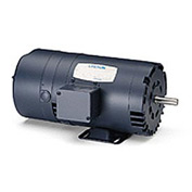 Leeson Motors - 1/2HP, 208-230/460V, 1725RPM, DP, Rigid Mount, 1.25 S.F.