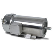 Leeson Motors Motor Washdown Motor-.5/.33HP, 208-230/460V, 1725/1425RPM, TENV, RIGID C, 1.15 SF