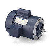 Leeson Motors - 3HP, 230V, 3450RPM, TEFC, Round Mount