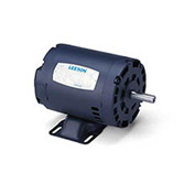 Leeson 131520.00, Premium Eff., 5 HP, 1760 RPM, 208-230/460V, 184T, DP, Rigid