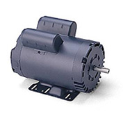 Leeson Motors - 5HP, 208-230V, 1740RPM, DP, Rigid Mount, 1.15 S.F.